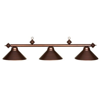 "3 SHADE 54"" BILLIARD LIGHT - CAPPUCCINO"