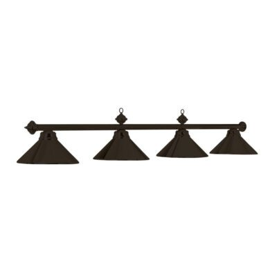 "4 SHADE 78"" BILLIARD LIGHT - MATTE BLACK"