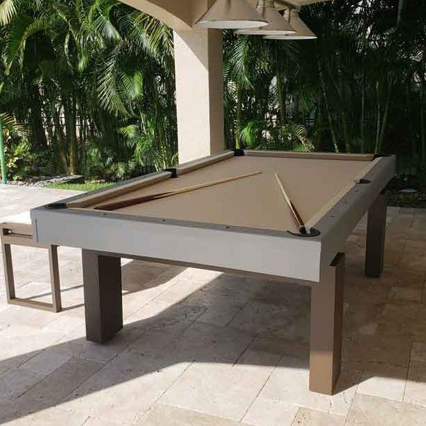 Outdoor Pool Table Weather Proof South Beach By R