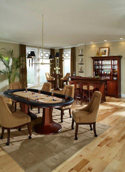 Aptos Texas Hold Em Table Room Scene