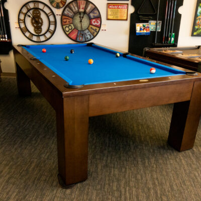 Discounted 8-foot pool table