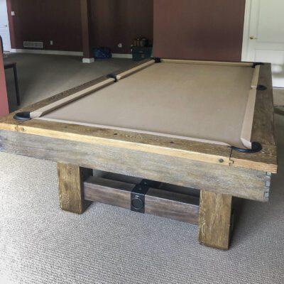 Used Brunswick Merrimack Pool Table Front
