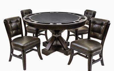 Darafeev Trestle Poker & Dining Table