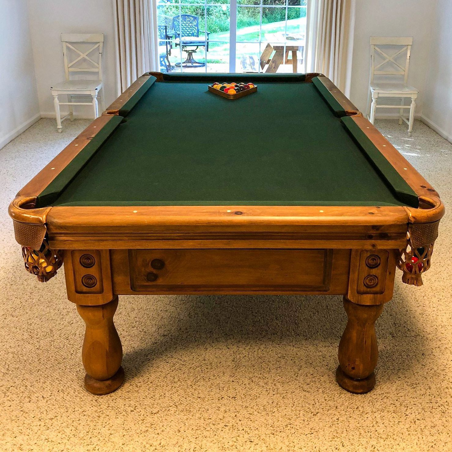 Used 8′ Proline Pine Pool Table
