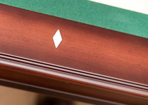 Used pool table detail