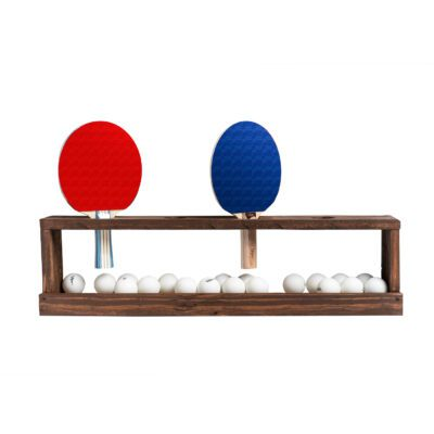 Ping Pong Paddle Wall Rack example