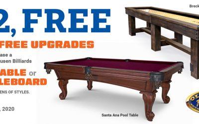 1 2 Free Sale – March 2020
