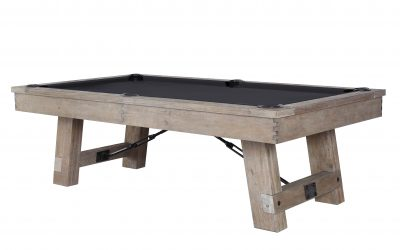 Isaac Pool Table by Plank and Hide