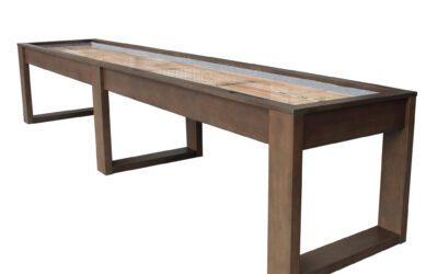 Lana Shuffleboard Table by Plank and Hide