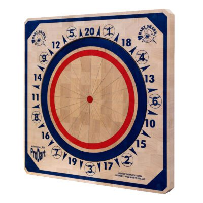 American Dart Board - Dark Blue - Baseball - Sideview