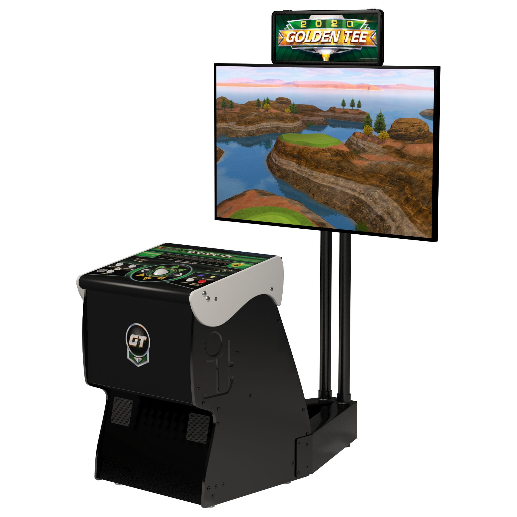 Multicade stand up video arcade game