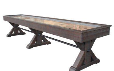 Otis Shuffleboard Table by Plank & Hide