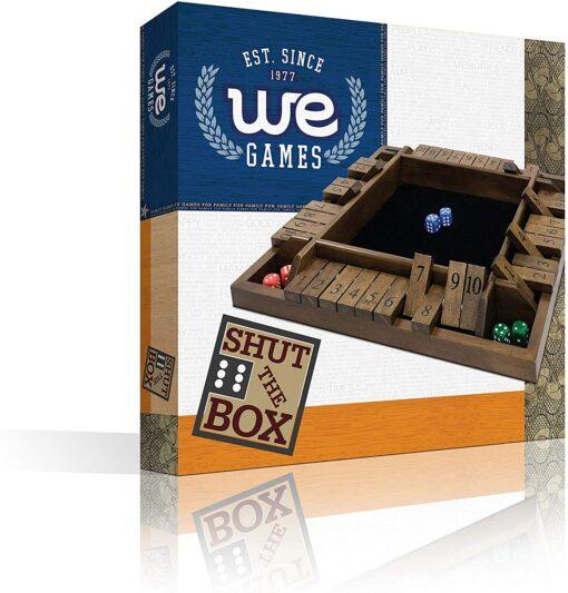 Shut the Box 4 Player in Box