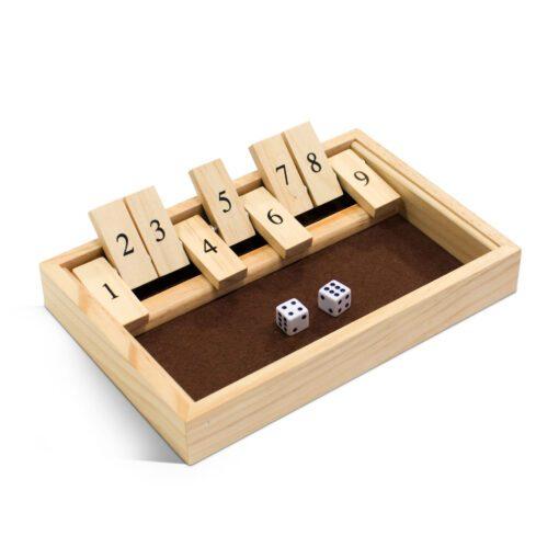 Shut the Box 12 Game Open