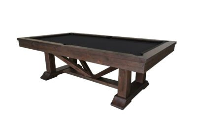 Lucas Pool Table by Plank and Hide