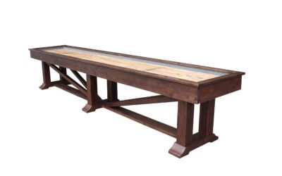 Lucas Shuffleboard Table by Plank and Hide