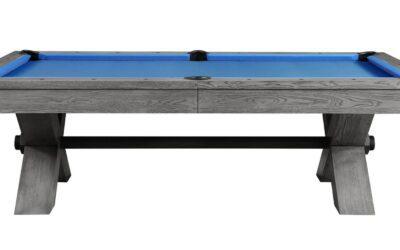 8′ Vox Wood Pool Table by Plank & Hide