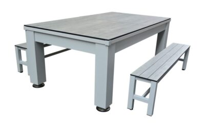 Ernesto Outdoor Pool Table Dining and Ping Pong Top