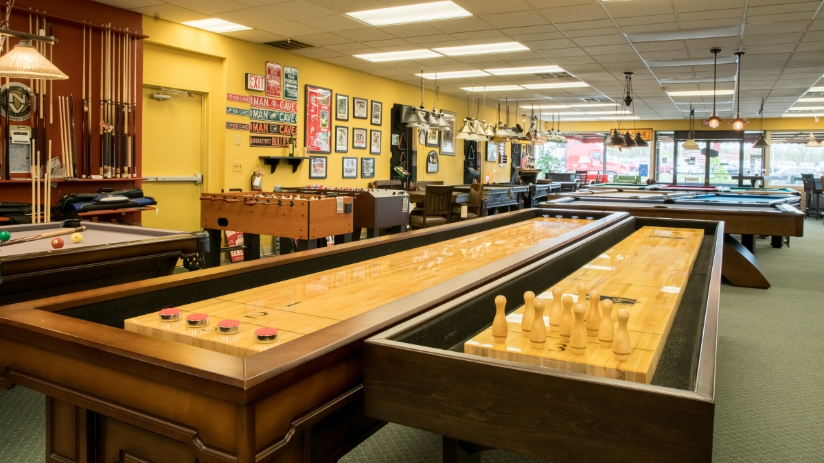 Pool Table & Game Room Showroom | Montgomeryville, PA