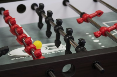 An available fooseball table