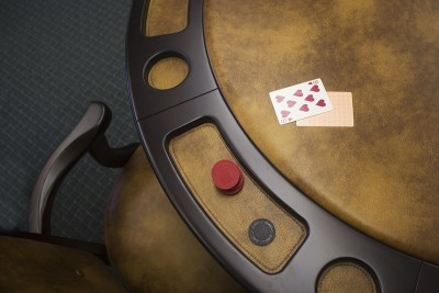 A card table available.