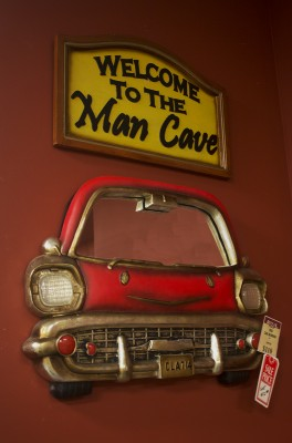 Decorations for your man cave.